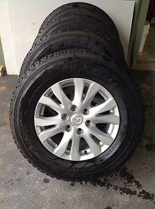 Dunlop Grandtrek AT22 265/65R17 Tyres on BT-50 alloy rims x 4 Drewvale Brisbane South West Preview
