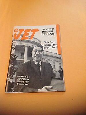 Jet Magazine May 15 1969 Duke Ellington cover in very nice cond