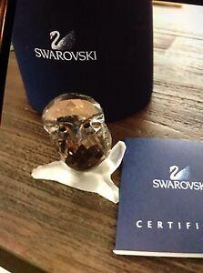 Swarovski silver crystal owl   No. 103326 Kotara Newcastle Area Preview