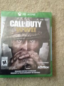 New Call of Duty  WWII  for Xbox One