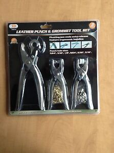 Leather punch and grommet set- brand new St. John's Newfoundland image 1