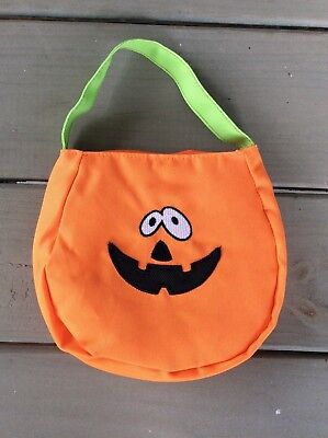 Petco Halloween Trick or Treat Bag for Toddlers or Pets ~ Jack O Lantern Pumpkin