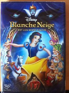 blanche neige et les sept 7 nains disney dvd neuf sous. Black Bedroom Furniture Sets. Home Design Ideas