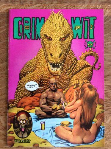GIRM WIT #2 Last Gasp Underground Comix, First Print, Richard Corben 1973