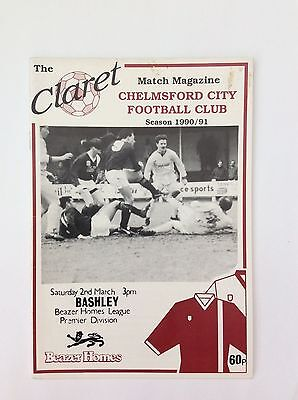 Chelmsford  City  V  Bashley Beazer Homes Leauge March 1991