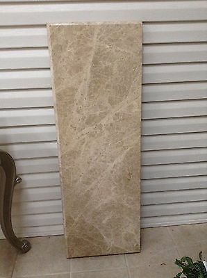 Frontgate Granite Extra Piece Top Console Entryway Sofa Side Table Bar 52x18