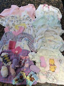 Girls baby clothes 0 to 6 months