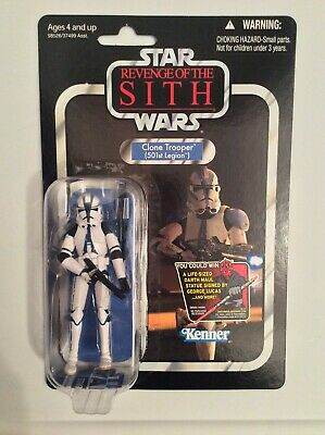 Star Wars Clone Trooper 501st Legion Vintage Collection VC60 - ROTS (Punched)