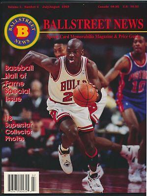 Michael Jordan Ballstreet News Magazine July/August 1993 *M14 for sale  Shipping to Canada