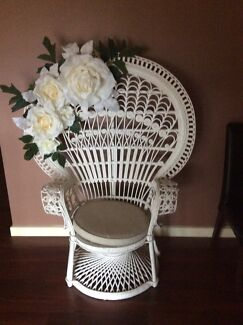 Peacock chair hire Angle Vale Playford Area Preview