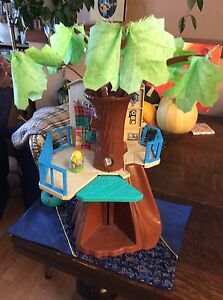 Vintage WEEBLES Treehouse with WEEBLE Strathcona County Edmonton Area image 1