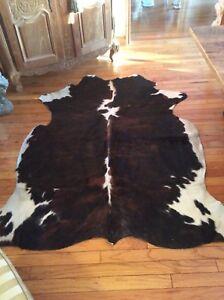 Genuine cow hide rug