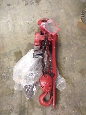 Cm Series 640 Lever Chain Hoist 3 Ton 5 Lift Come Along Puller