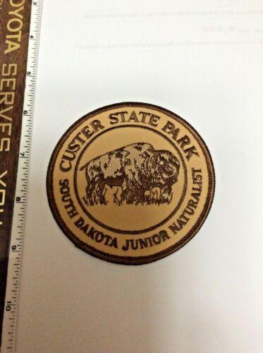 Custer State Park South Dakota Junior Naturalist DNR Police Shoulder Patch New