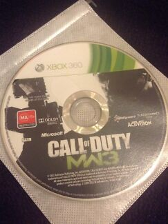 Call of duty MW3 Xbox 360 Avonsleigh Cardinia Area Preview