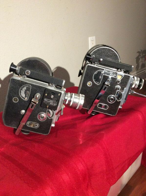 Two Paillard Bolex 16mm Cameras