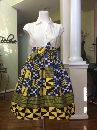 Ankara/African Print Women Skirt With Two Pocket XS S, M, L,XL* XXL
