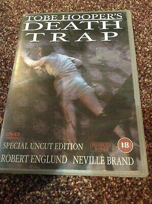 DEATH TRAP DVD Tobe Hooper (aka EATEN ALIVE)