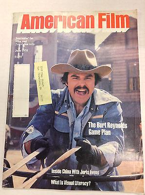 American Film Magazine Burt Reynolds Game Plan June 1978 040517Nonr