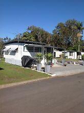 Onsite caravan Swansea gardens caravan park Rathmines Lake Macquarie Area Preview