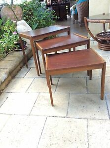 Set of 3 Retro Stackable Tables Smithfield Cairns City Preview