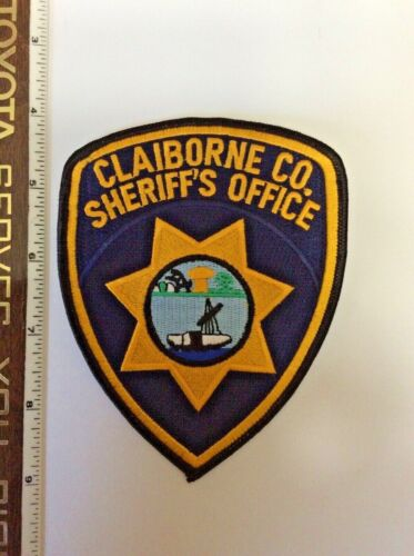 Claiborne County Tennessee Sheriff Office Police Shoulder Patch New