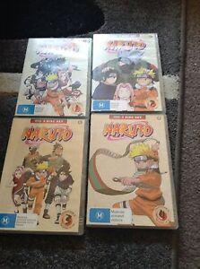Naruto box sets 1-4 Ngunnawal Gungahlin Area Preview