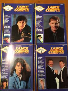 Lance et compte (albums souvenirs 1, 2, 3 et 4)