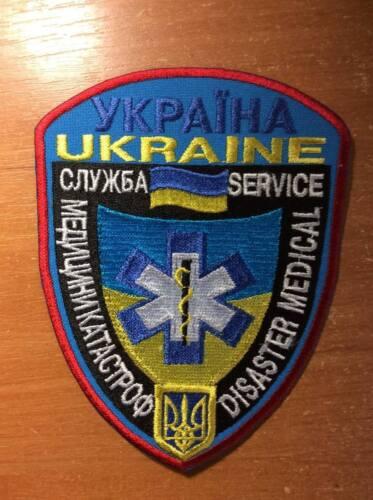 PATCH UKRAINE AMBULANCE EMS DISASTER MEDICAL SERVICE