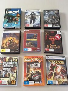 Pc games for sale Lutana Glenorchy Area Preview