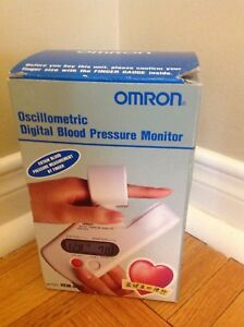 OMRON Digital Finger Automatic Compact Blood Pressure Monitor