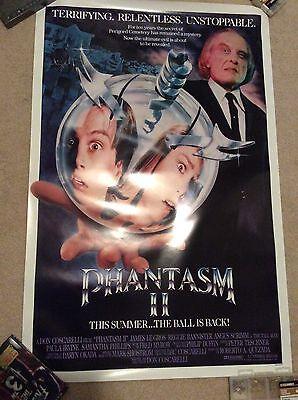 "PHANTASM 2 II Original Movie Poster 27"" X 40"" Rolled Tall Man Horror Sphere"