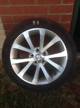 Ref H11 Holden VE 245/45/18 rims and tyres Kelmscott Armadale Area Preview
