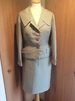Vintage 40-50,s Two Piece Suit Size 12-14