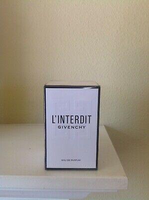 Givenchy L'Interdit 1.7oz Eau de Parfum Brand New!