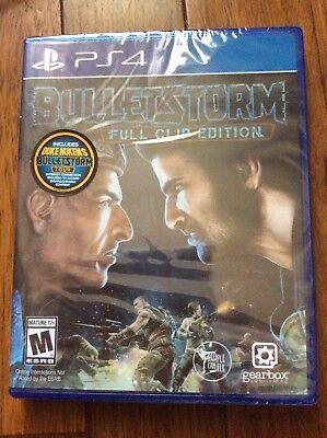 Bulletstorm: Full Clip Edition (Sony PlayStation 4, 2017) Brand new
