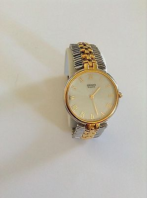 Seiko Vintage  Quartz Men's and Women's Silver  Gold-Tone Watch