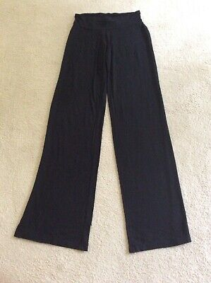MARKS AND SPENCER M&S STRETCH BLACK BOTTOMS SPORTS AEROBICS RUNNING GYM SIZE 8L for sale  Shipping to Nigeria