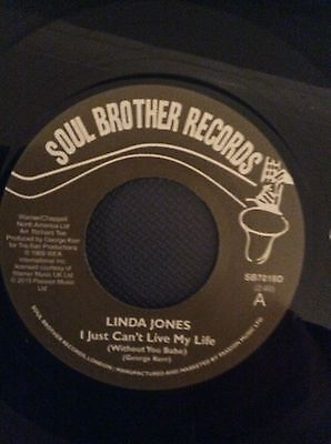 Linda Jones - I Just Can't Live My Life / My Heart Needs A Break