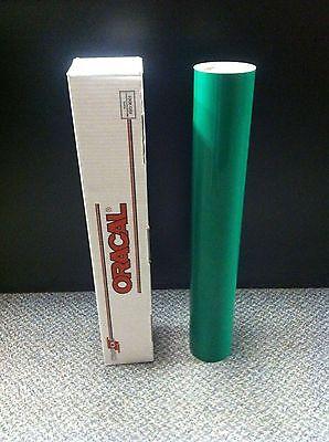Oracal 651 1 Roll 24x10yd30ft Green 061 Gloss Sign Vinyl