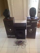 Speakers, subwoofer, amplifier, aux cords and speaker wire Dingley Village Kingston Area Preview