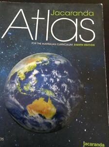 Books - Jacaranda Atlas AC 8E (myWorld Atlas/Online)