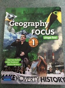 Geography TextbookFocus stage four 1 McDowall Brisbane North West Preview