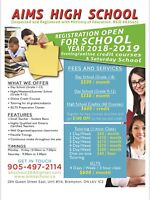High School Credit Courses/ Full Time School/ Tutoring