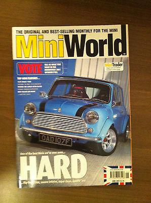 Mini World Magazine June 2001 1380 Flip Front, Mini De Luxe, Minivan, Miglia