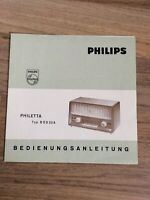Bedienungsanleitung Philips Philetta aus den 1960ern Nordrhein-Westfalen - Jüchen Vorschau