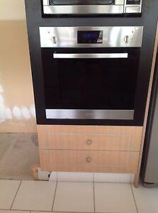 Gas cooktop, electric oven and rangehood Carrara Gold Coast City Preview