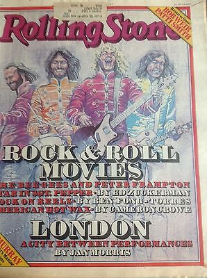 Peter Frampton THE BEE GEES Vintage Rolling Stone April 1978 Rock & Roll Movies