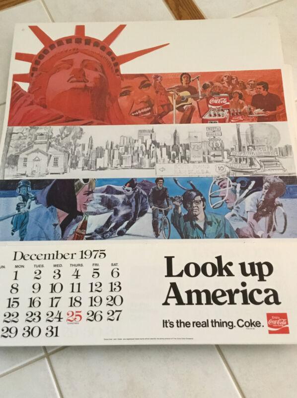 20 Vintage Coca Cola Bicentennial Calendars ( NOS )