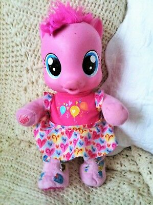 RARE My Little Pony So Soft Pinkie Pie Talking Doll, MOVING LEGS
